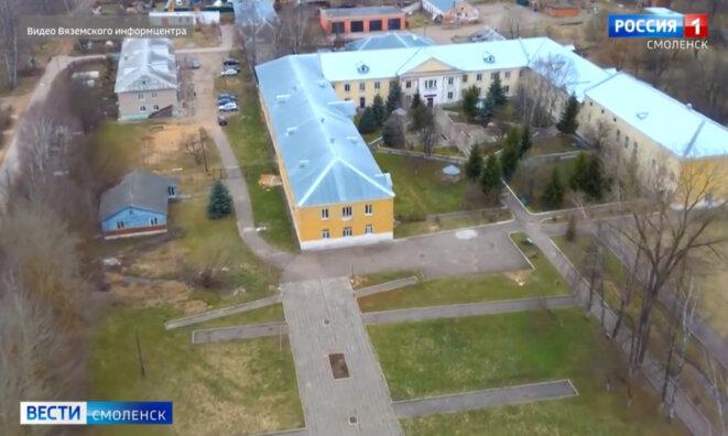 La maison de retraite de Viazma © Copie d'écran / Rossia 1