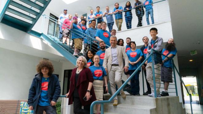 Chez Auticon, une société mondiale de conseil en informatique et d'entreprise sociale, 200 de ses 300 employés dans le monde sont autistes. © Auticon