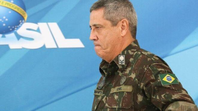 Général Braga Netto © https://www.bbc.com/portuguese/brasil-51482928