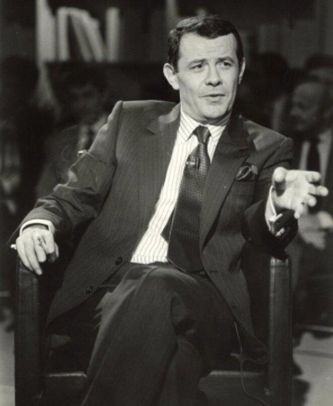 Jean-Michel Beau sur le plateau d'Apostrophes en 1989 © DR