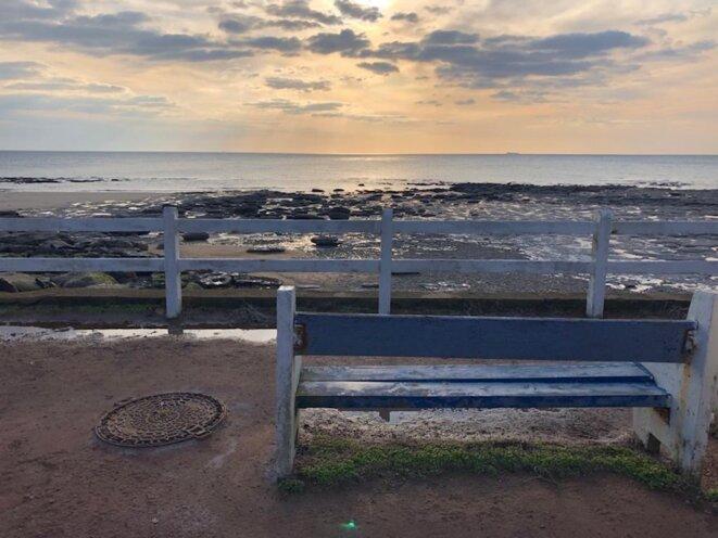 À Audresselles, la mer monte, elle gronde. © JLLT / MP