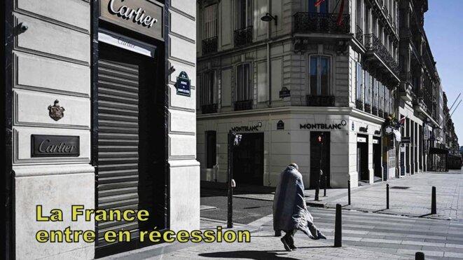 La France face à la récession © Pierre Reynaud