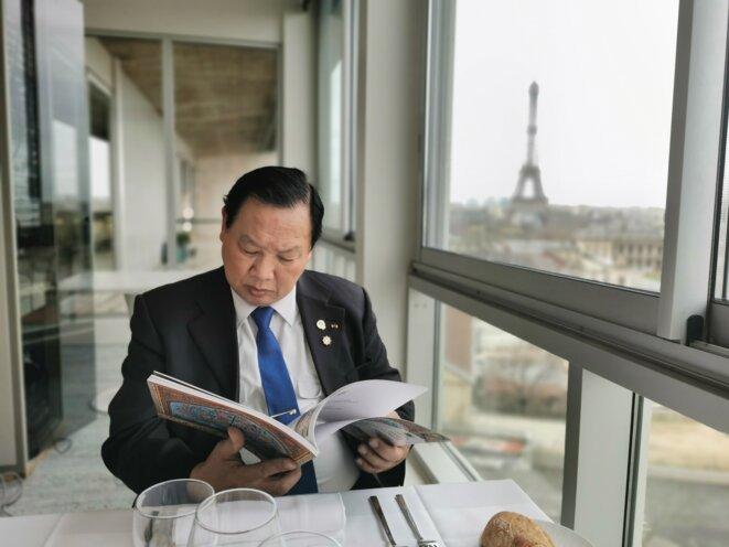 Bernard Sok à l'UNESCO © cesr