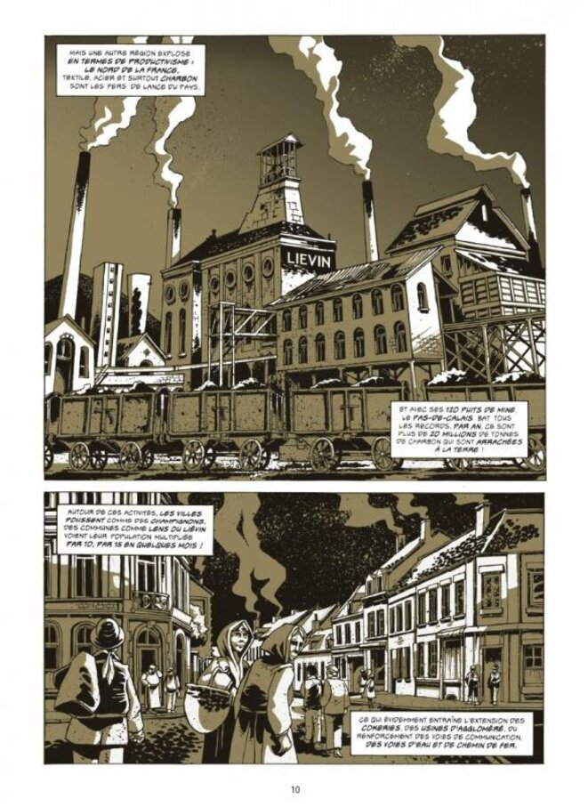 Sang Noir, édit° Futuropolis © Jean-Luc Loyer