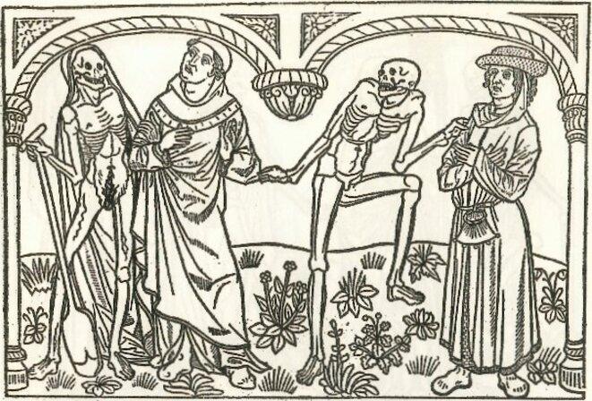 Le Bourgeois, le Savant & la Mort, Danse Macabre des Saints Innocents à Paris, 1424-25