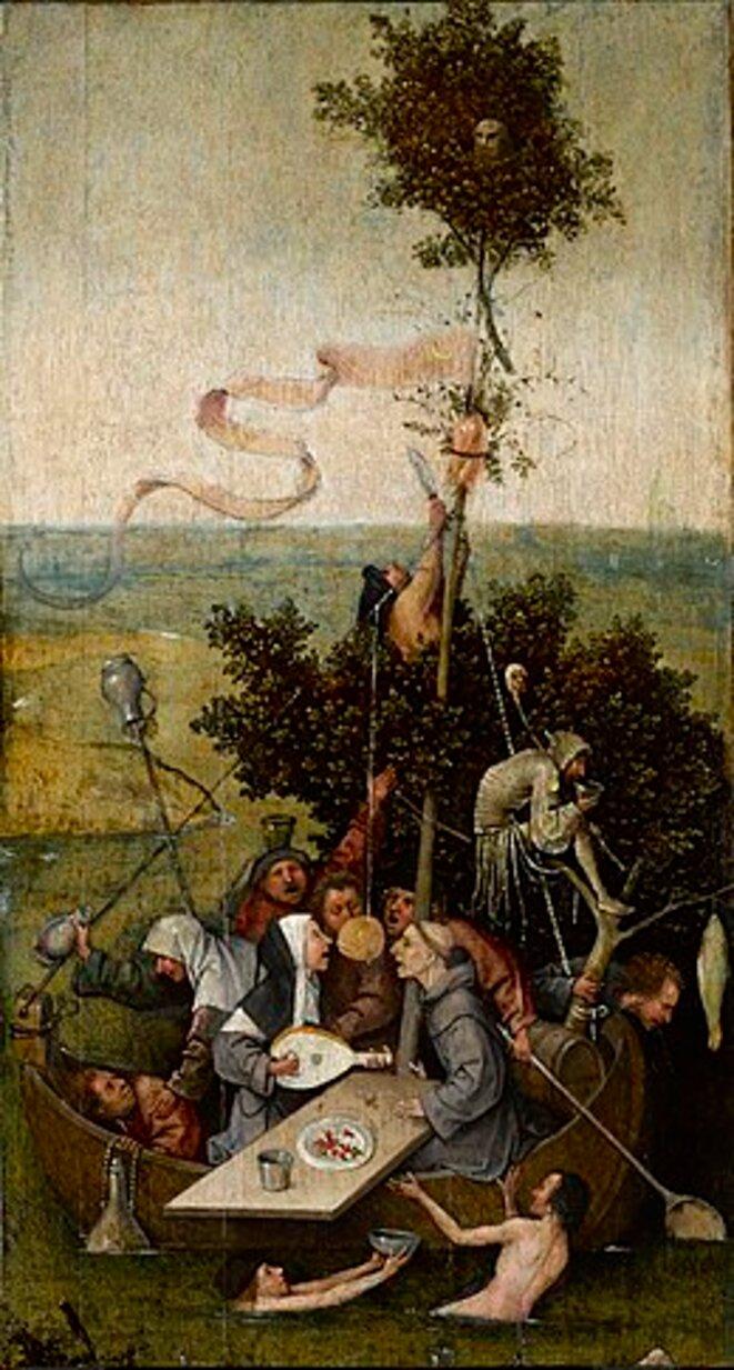 La Nef des Fous, Hieronymus Bosch, c. 1500, Musée du Louvre, Paris