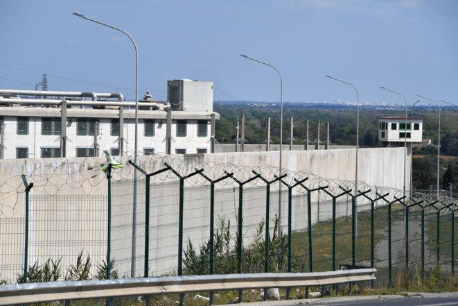 La prison de Villeneuve-lès-Maguelone, le 26 mars 2020. © AFP