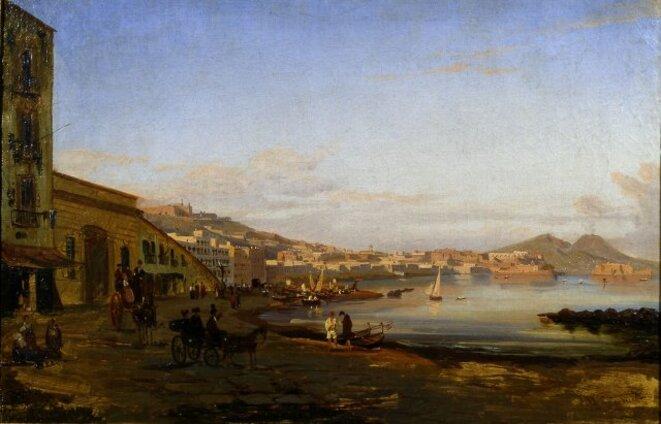 Marina di Posillipo 1844 - encore un autre temps. © Giacinto Gigante