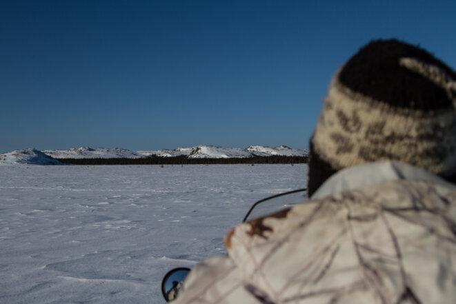 Paradoxalement, c'est en hiver que la région est la moins isolée et qu'il y a le plus de mobilité. La glace est un formidable moyen de progression et de transmission.