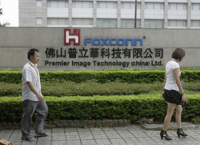 Une usine Foxconn à Foshan, dans la province du Guangdong en 2010. © AFP
