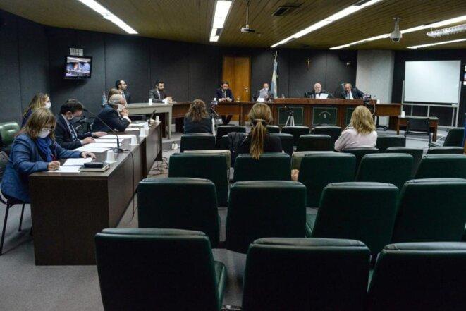 Tribunal fédéral de Mar del Plata © Marcelo Nuñez/Página 12