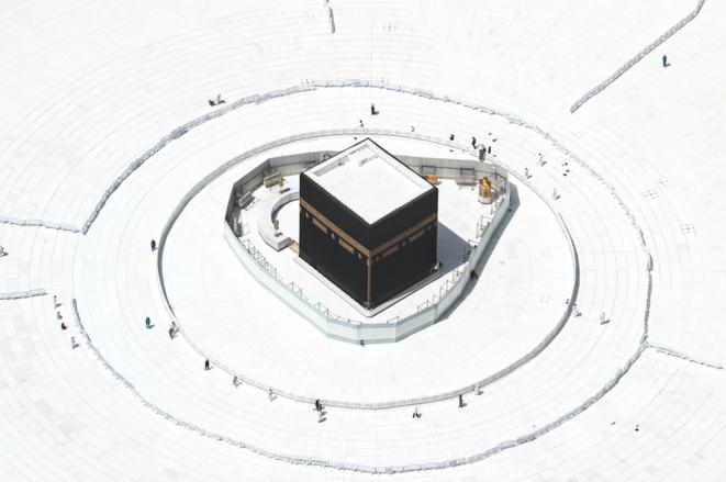 La Mecque vidée de ses fidèles. © STRINGER/ANADOLU AGENCY/AFP