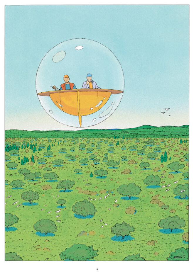 Le Monde d'Edena © Moebius