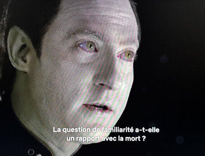 Épisode 5 Saison 3 Star Trek: The Next Generation / Capture d'écran