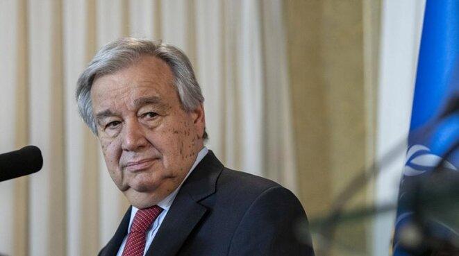 Antonio Guterres, secrétaire général de l'ONU. © (ONU)