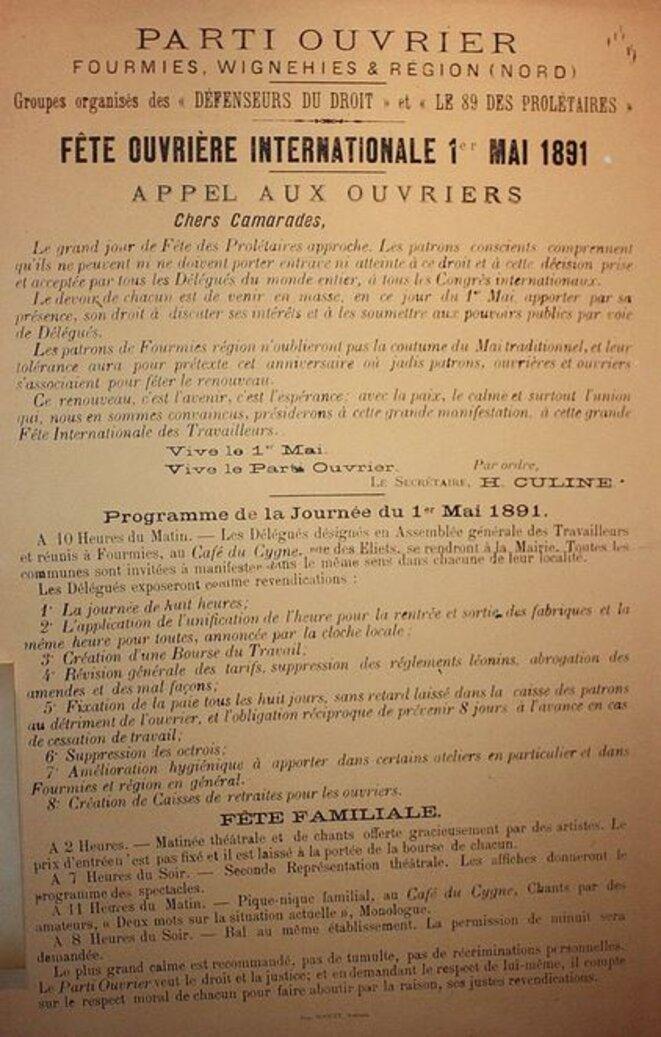 affiche-du-parti-ouvrier-francais-du-1er-mai-1891