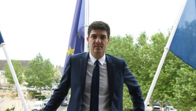 Le député du Lot Aurélien Pradié. © AFP