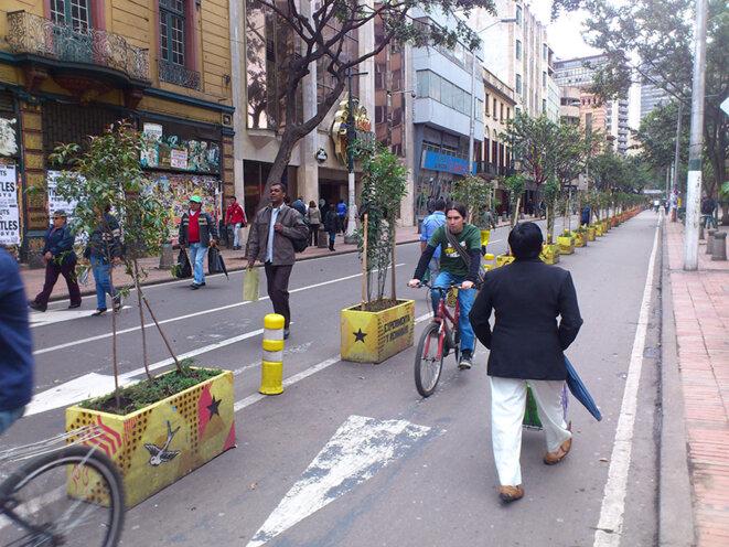 Les vélos à Bogota dès 2012 © jean-pierre charbonneau