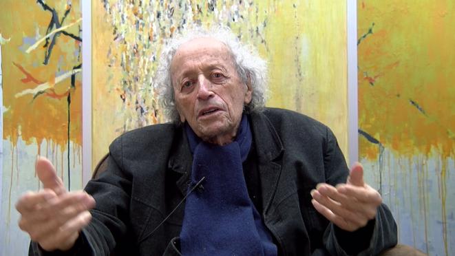 Bernard Noël © Pierre Nicolas