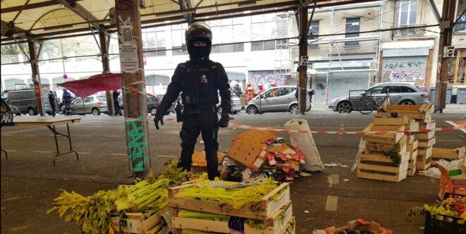 Montreuil, 1er Mai 2020 © Brigades de Solidarité Populaire