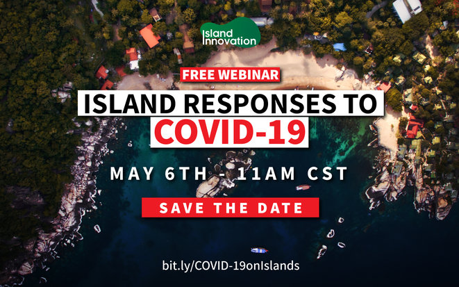 Islands and the COVID-19 Pandemic Confirmation - WEBINAIR © Island innovation