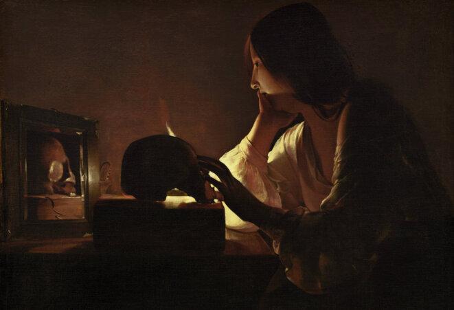 Georges de La Tour, 1635-1640, La Madeleine pénitente (au miroir)