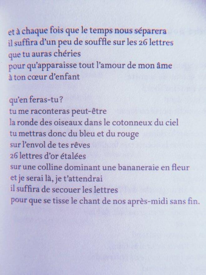 '26 lettres pour un sourire'