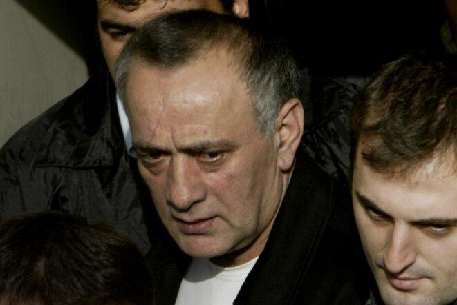 Alaattin Çakici (à gauche) en 2004 au tribunal d'Istanbul. © Mustafa Ozer/AFP