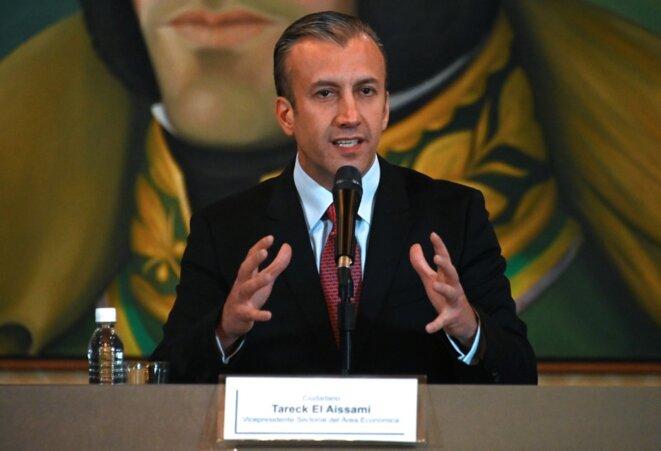 Tareck El Aissami en mai 2019. © Marvin Recinos/AFP