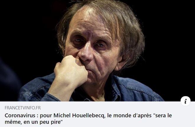 Michel Houellebecq © FRANCEINFOTV.FR