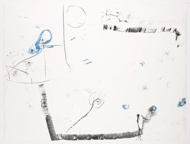 Trisha Brown, «It's a draw (for Robert Rauschenberg), fusain et pastel sur papier, 81 x 108 inch, 2008 © Walker Art Center