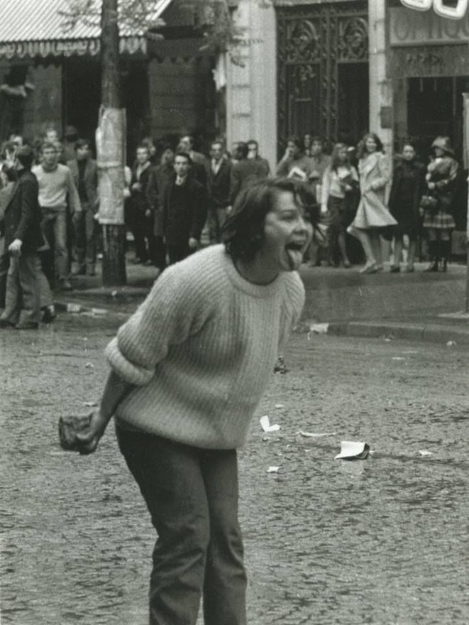 Paris, mai 1968 © Manuel Bidermanas