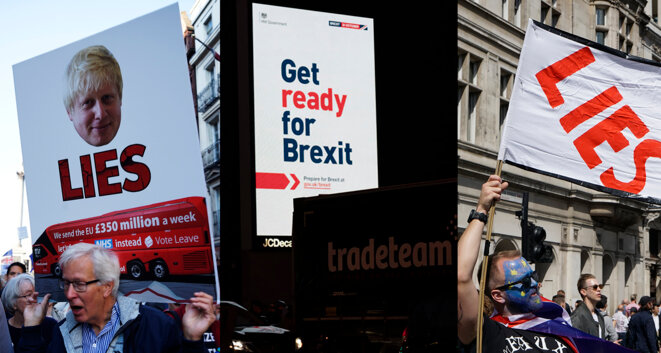 Lies / Get Ready for Brexit Tradeteam / Lies © Sandra von Lucius