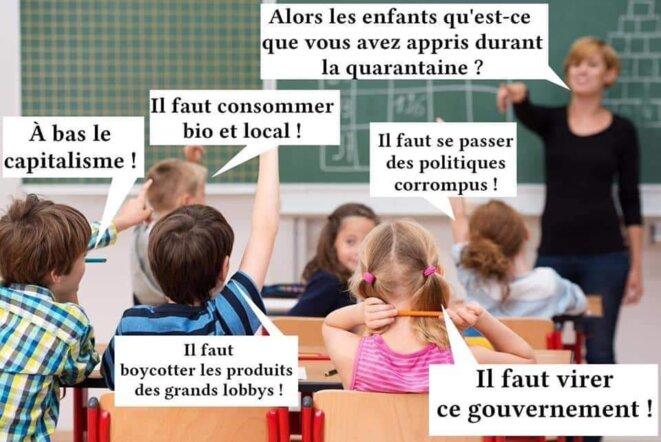 Le cauchemar de Jean-Michel Blanquer... © DR