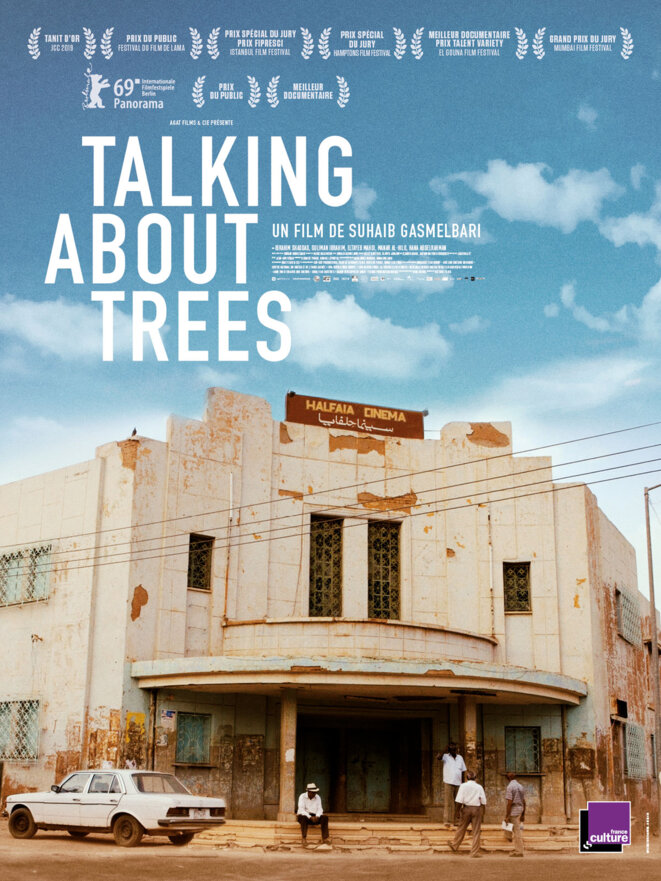 "Affiche du film ""Talking about trees"""