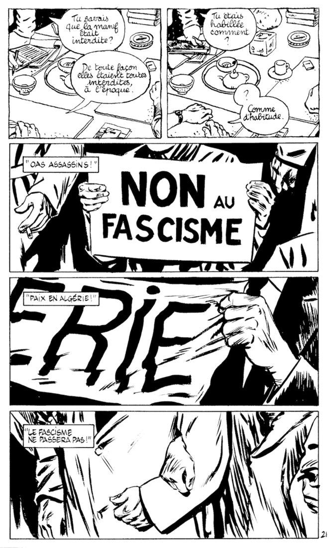 Charonne – Bou Kadir, édit°Tirésias, 2012 © Jeanne Puchol