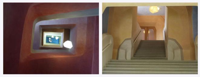 L'intérieur du Goetheanum à Dornach (Suisse), quartier général de l'Anthroposophie.Photos libres de droit issues de Pixabay.