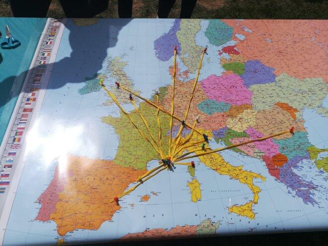 La Ciotat a su étendre son réseau international à la dimension de l'Europe © Philippe Léger