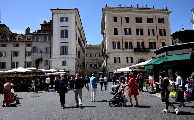 À Rome, le 9 mai 2020. © Tiziana Fabi/AFP