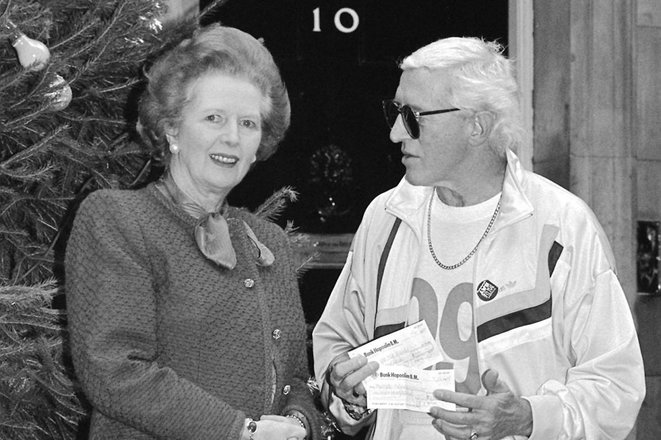 Margaret Thatcher was a great admirer of Jimmy Savile © David Jones/PA