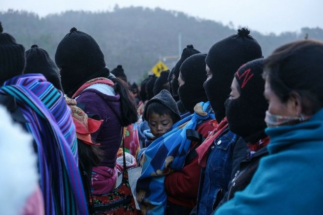 Membres de l'EZLN © Cuartoscuro / Archive