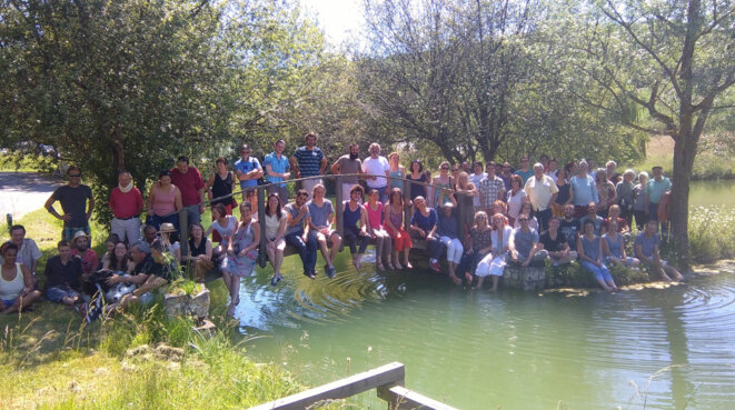Participants au projet Tera (Lot-et-Garonne) © Projet Tera
