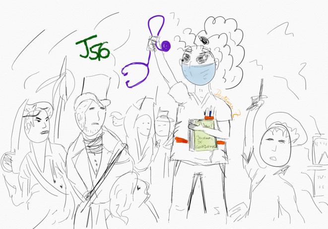 J56: Liberté © Docteure Z.