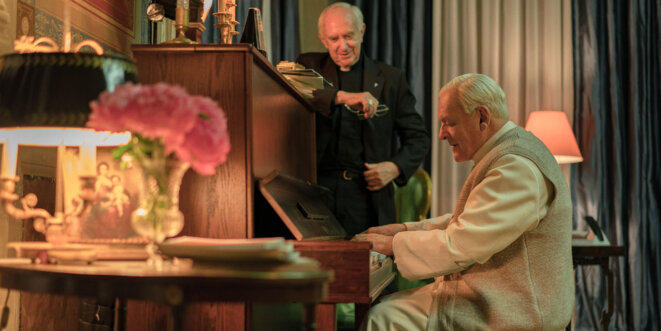 """Les Deux papes"" (The Two popes) de Fernando Meirelles © Netflix"