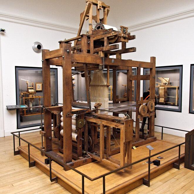 Métier à tisser les façonnés de Vaucanson © Musée des Arts et Métiers