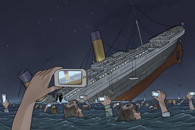 Le Titanic par Pierre Brignaud © Pierre Brignaud