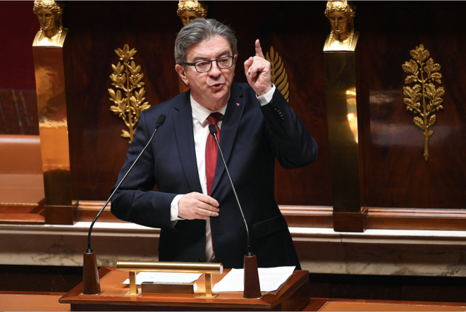 Le 28 avril, à l'Assemblée. © David NIVIERE / AFP / POOL