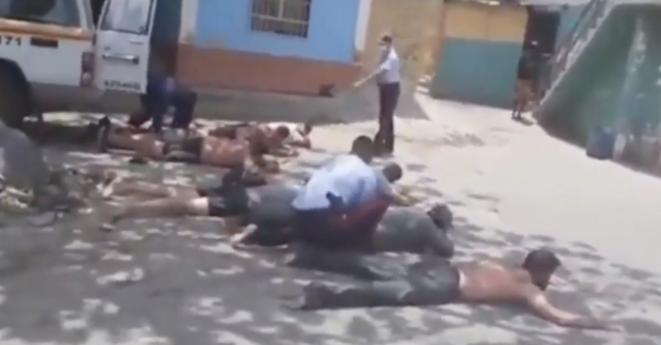L'arrestation des mercenaires au Venezuela. © Capture d'écran/YouTube