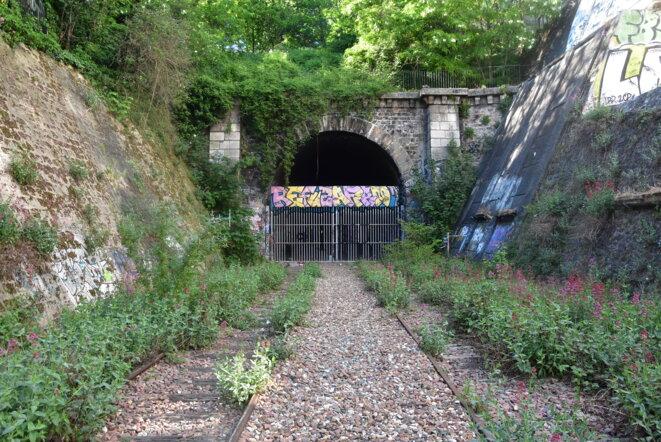 Tunnel Petite Ceinture (20ème arrondissement) © Benjamin Cuneo