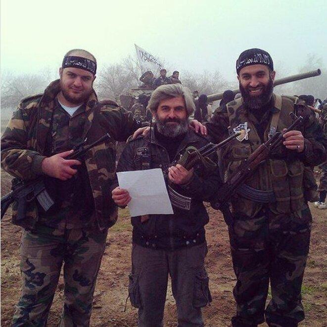 Majdi Naameh (à gauche). © DR/YouTube